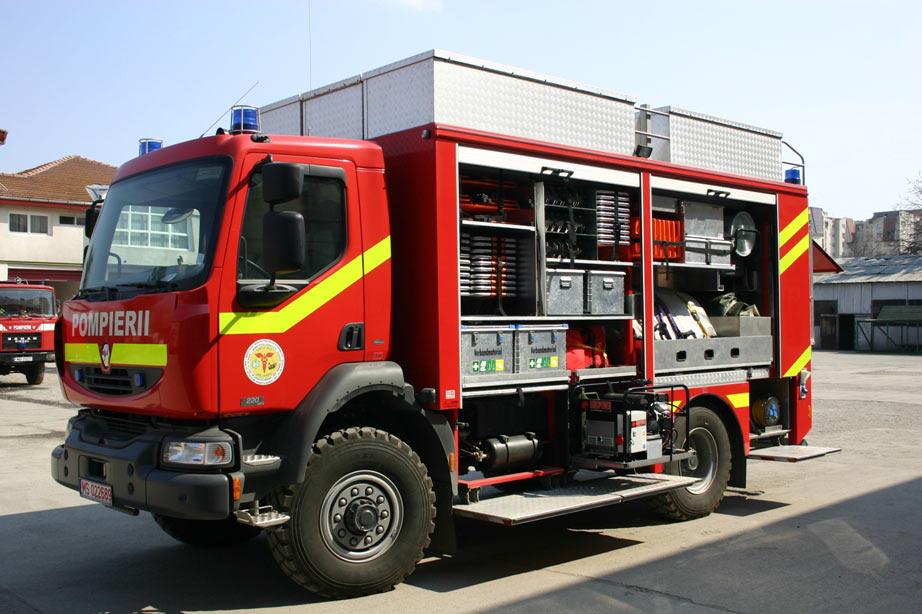 Masina interventie accidente colective, dezastre naturale si operatiuni de salvare grea