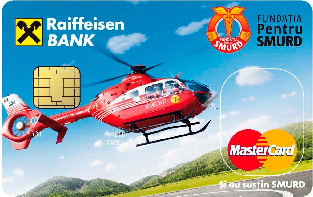 Cardul Raiffeisen Bank SMURD