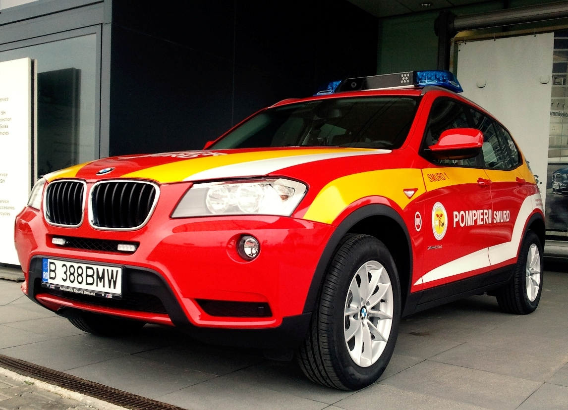 BMW - autospeciale interventie medic SMURD