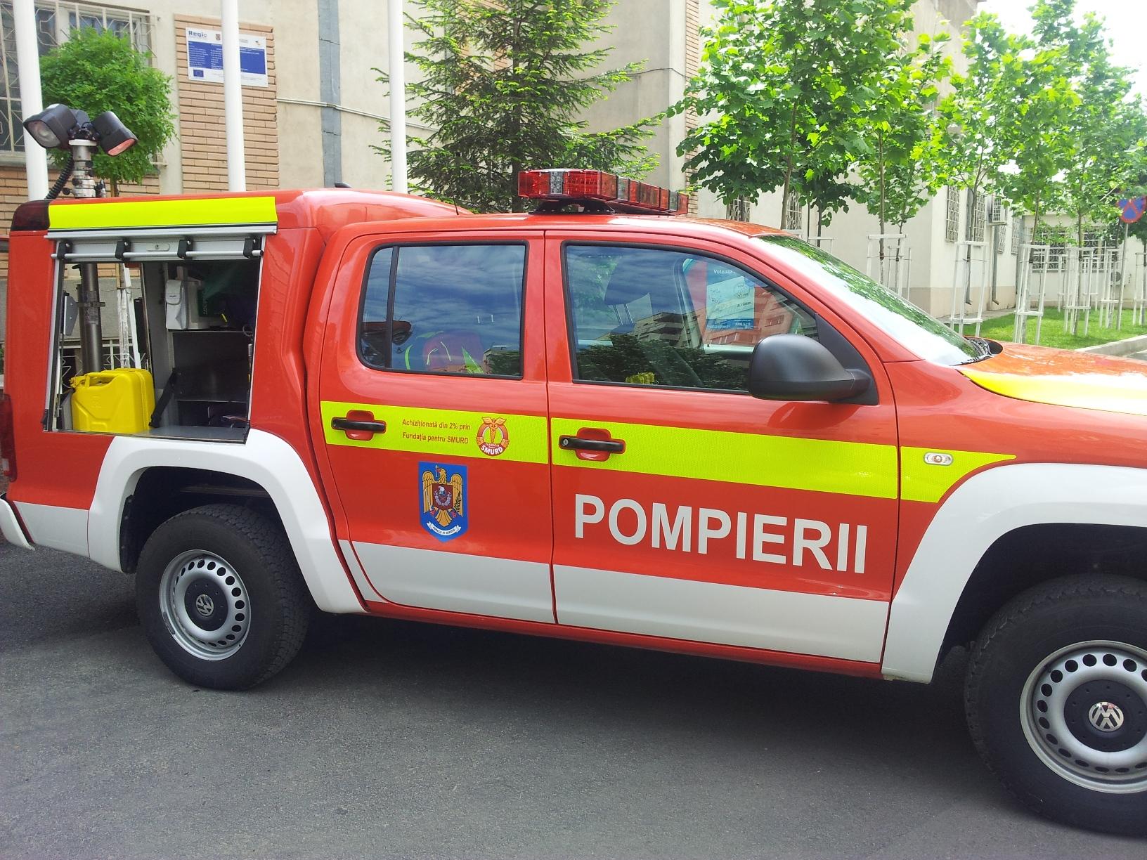Autospeciala ISU SMURD Bucuresti