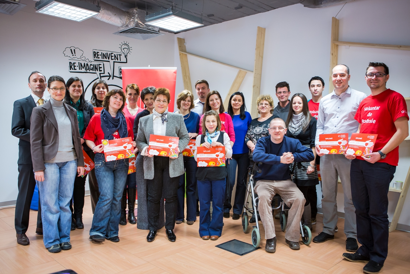 Fundatia Vodafone - Voluntar de profesie 2012
