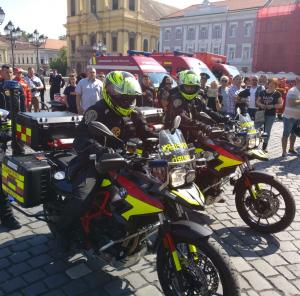 moto SMURD Timis